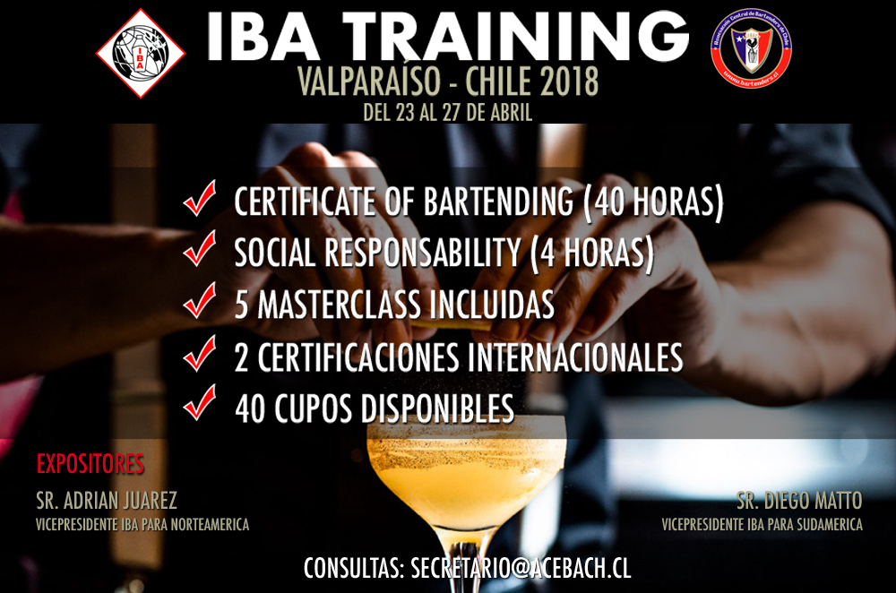 IBA TRAINING EN CHILE 2018